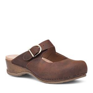 Dansko Martina Backless Maryjane Clogs